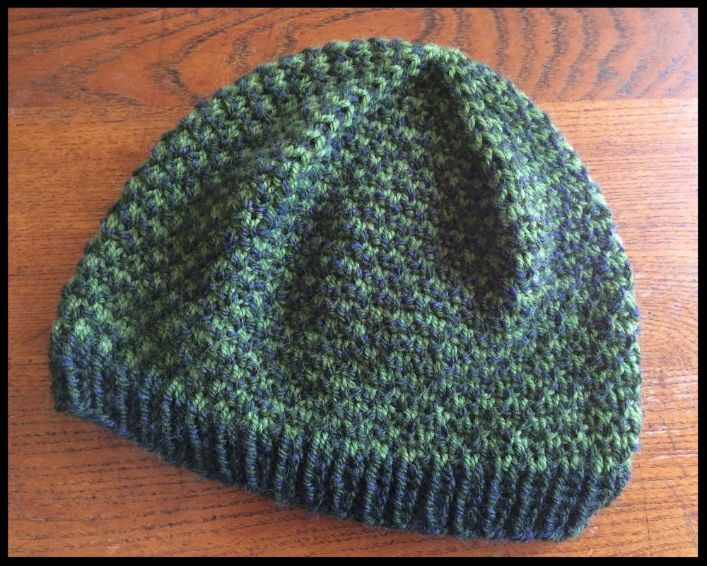Knitted Fish Scale Hat — F/V Animal Fair