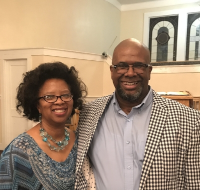 Pastor Eddie Johnson, Sr. and His Wife, Joyce