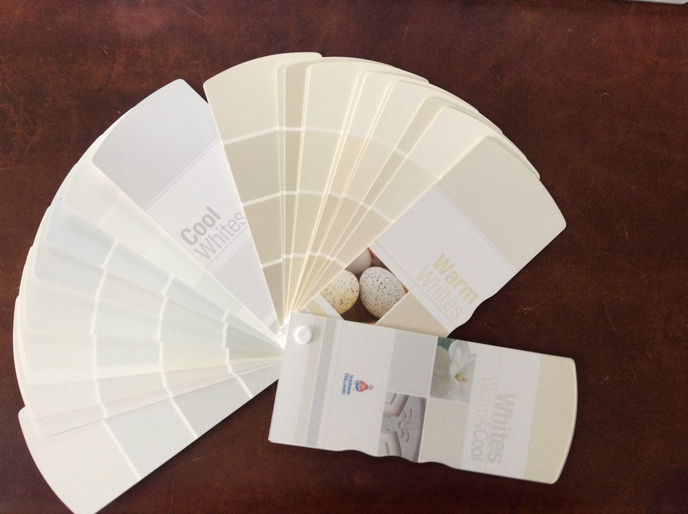 Sherwin Williams Whites: Warm & Cool