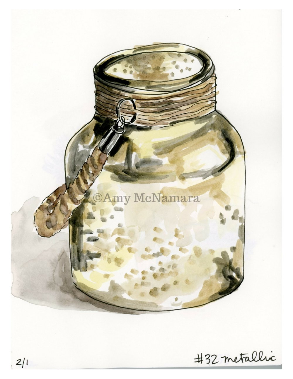no.32 Metallic Jar