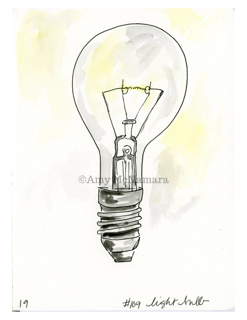 no.109 Lightbulb