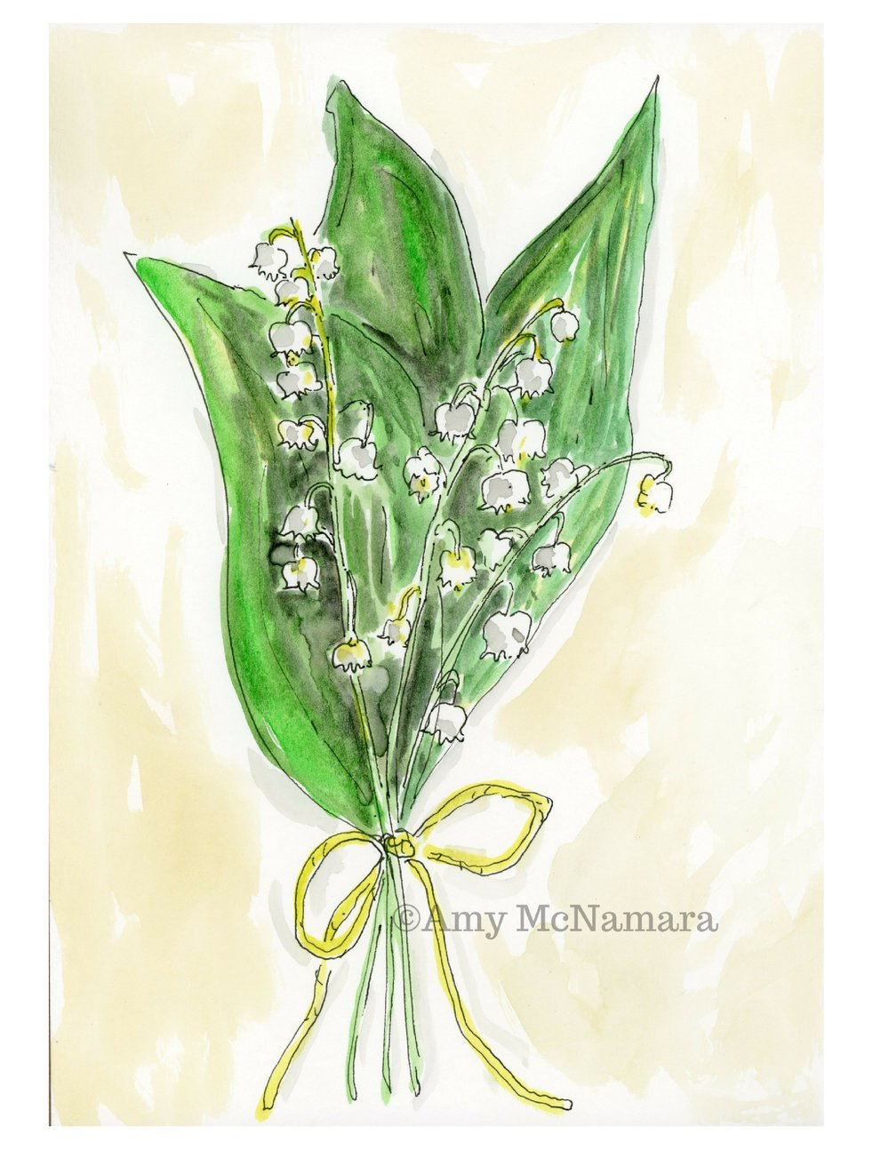 no. 181 Lily of the Valley