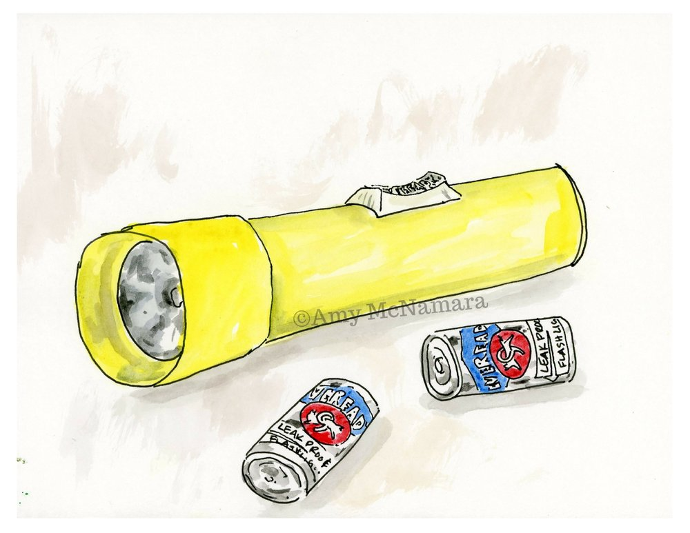 no. 121 Flashlight