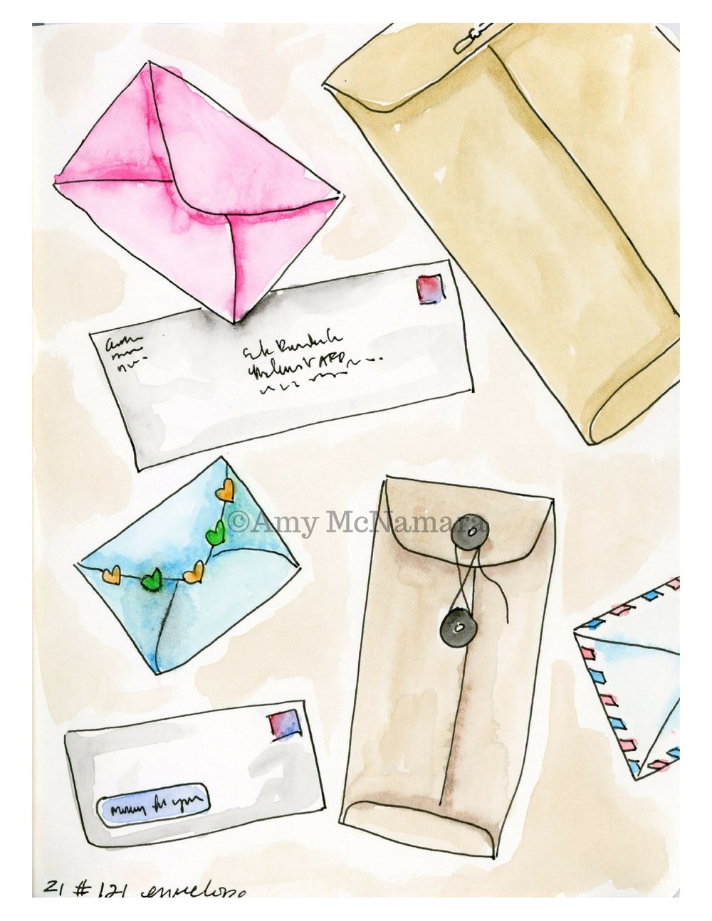 no. 141 Envelopes