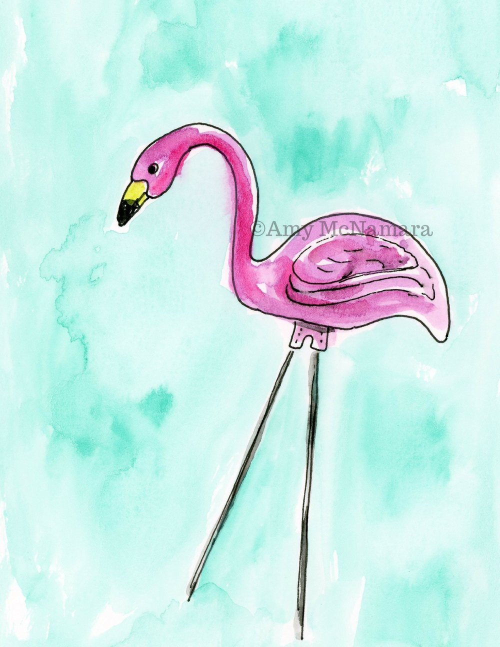 no. 208 Flamingo 1