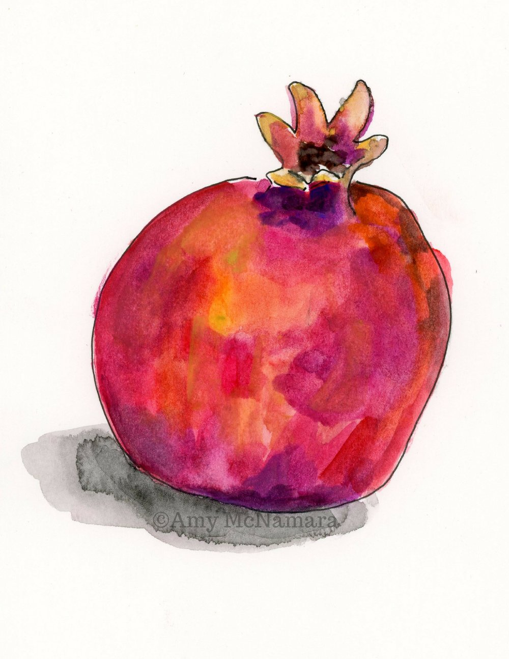 no. 245 Pomegranate