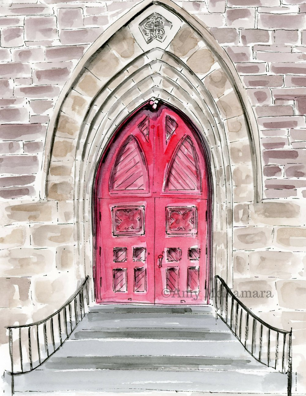 no 280 St Paul's Episcopal Church Doors