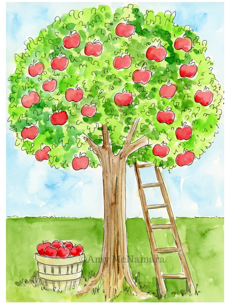 no. 291 Apple Tree
