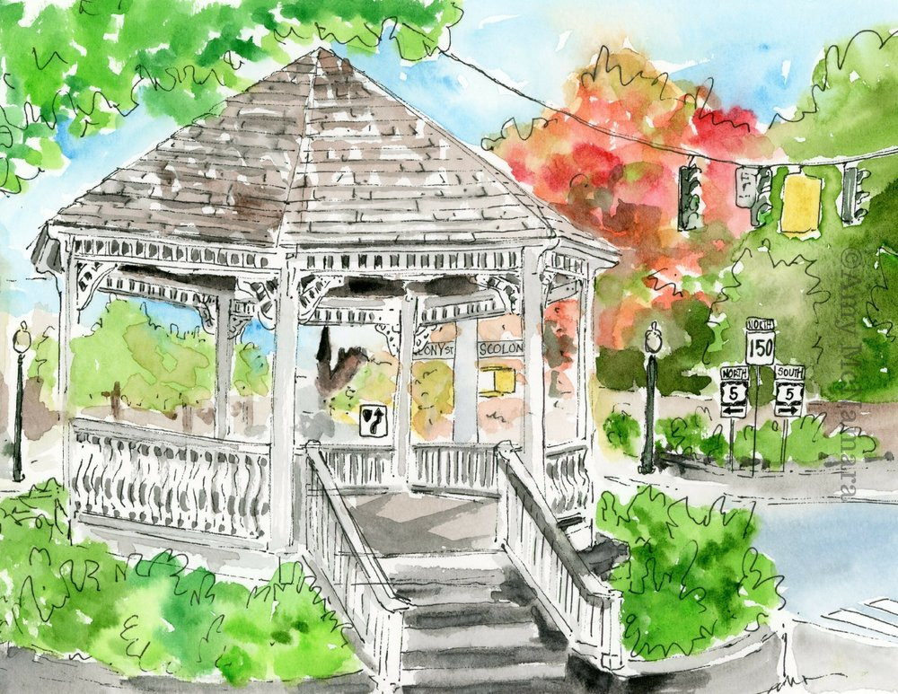no. 253 Gazebo (Wallingford Series)