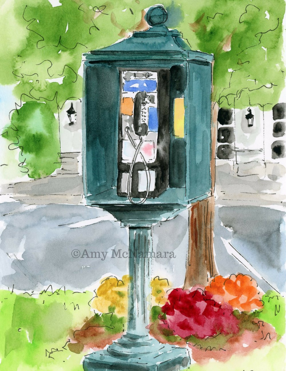 no. 261 Payphone (Wallingford Series)