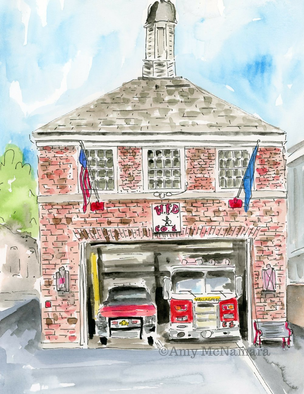no. 273 Firehouse (Wallingford Series)