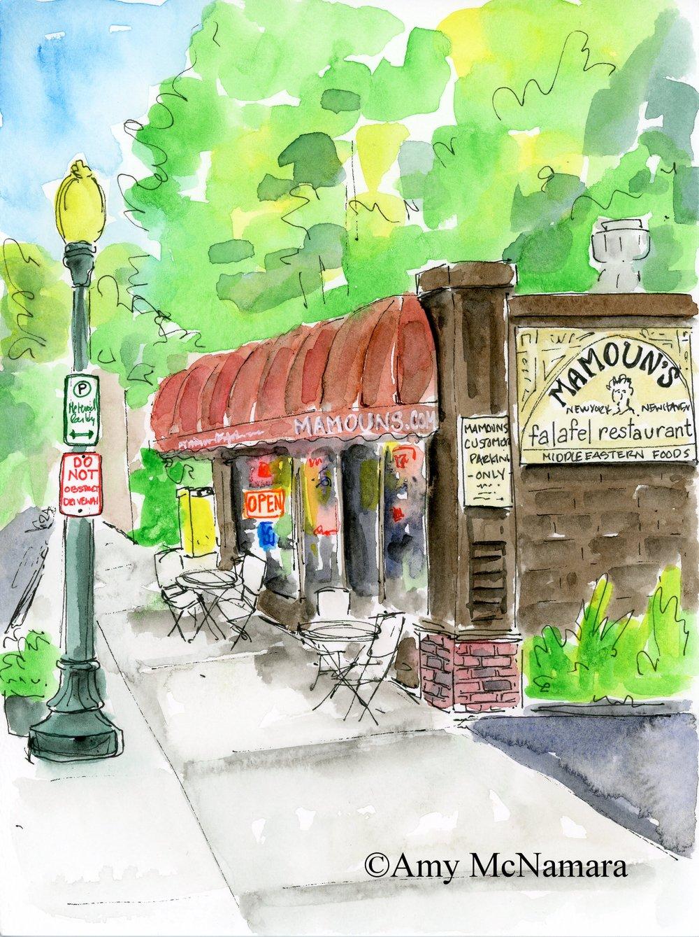 Mamoun's Falafel •New Haven CT