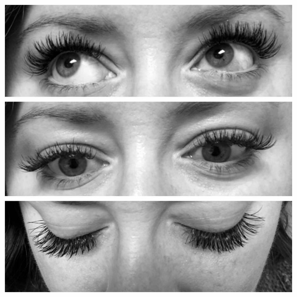 full long lashes