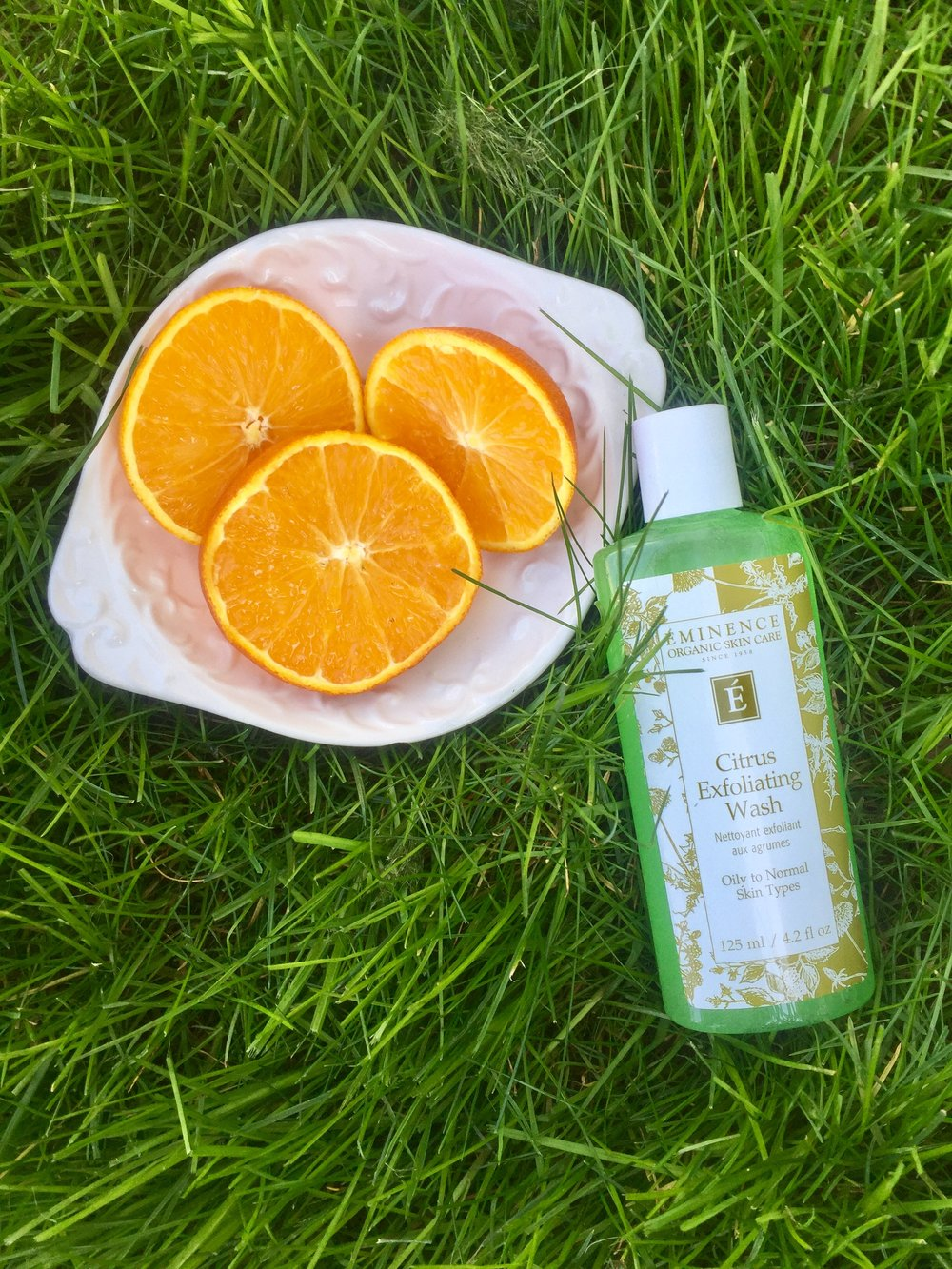Image result for citrus exfoliating wash