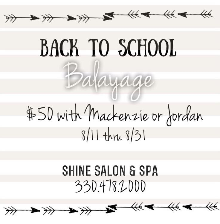 *offer Does Not Include Cut/style. Valid 8/11 Thru 8/31. Must Mention This  This Post When Booking.