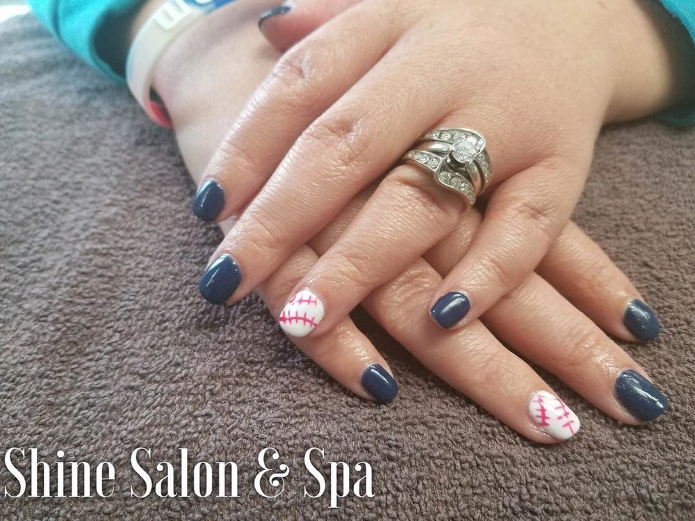 manicure/ nail art — Shine Salon & Spa