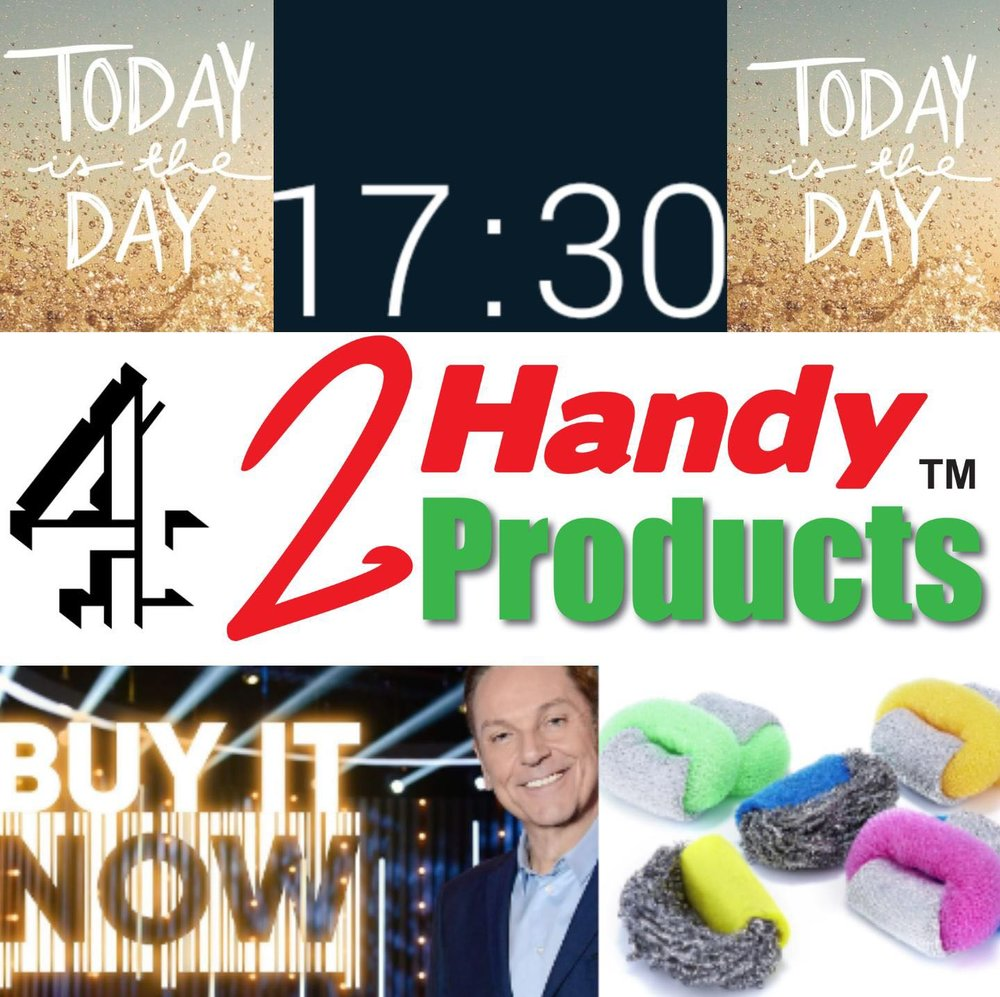 ScrubRite on hit CH4 show 'Buy It Now' on 30th April.