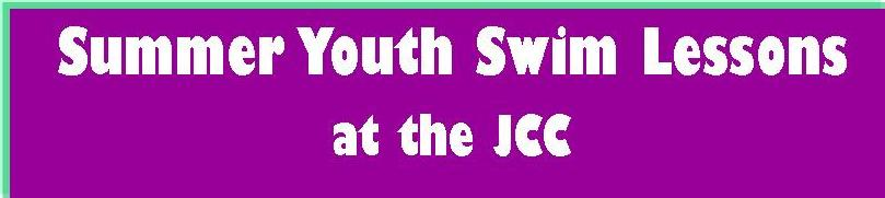 Click the banner for more information on Winter youth swim lessons