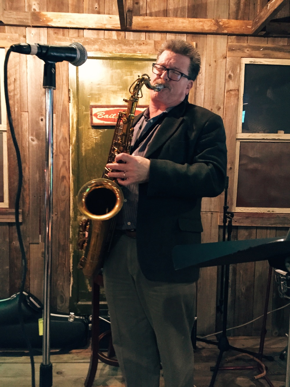 Live Jazz on the 2nd Thursday of the month with Don Pope at 6pm.