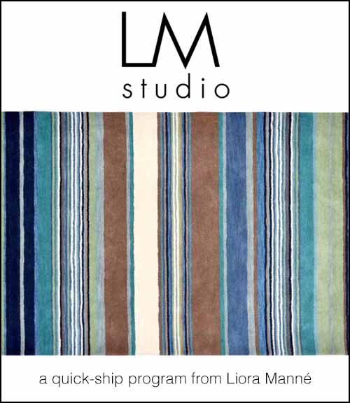 Click here for the LM Studio catalog.  - Includes Liora Manné designs available in larger quantities for quick shipment