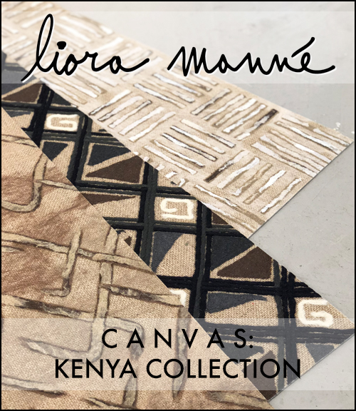 Click here for the   CANVAS: Kenya Collection   brochure.   - Includes the latest innovative formulation that layers woven jute into the patented Lamontage needle-punching process.