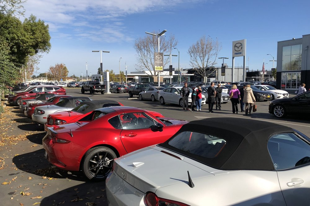 Annual meeting at OakTree Mazda.