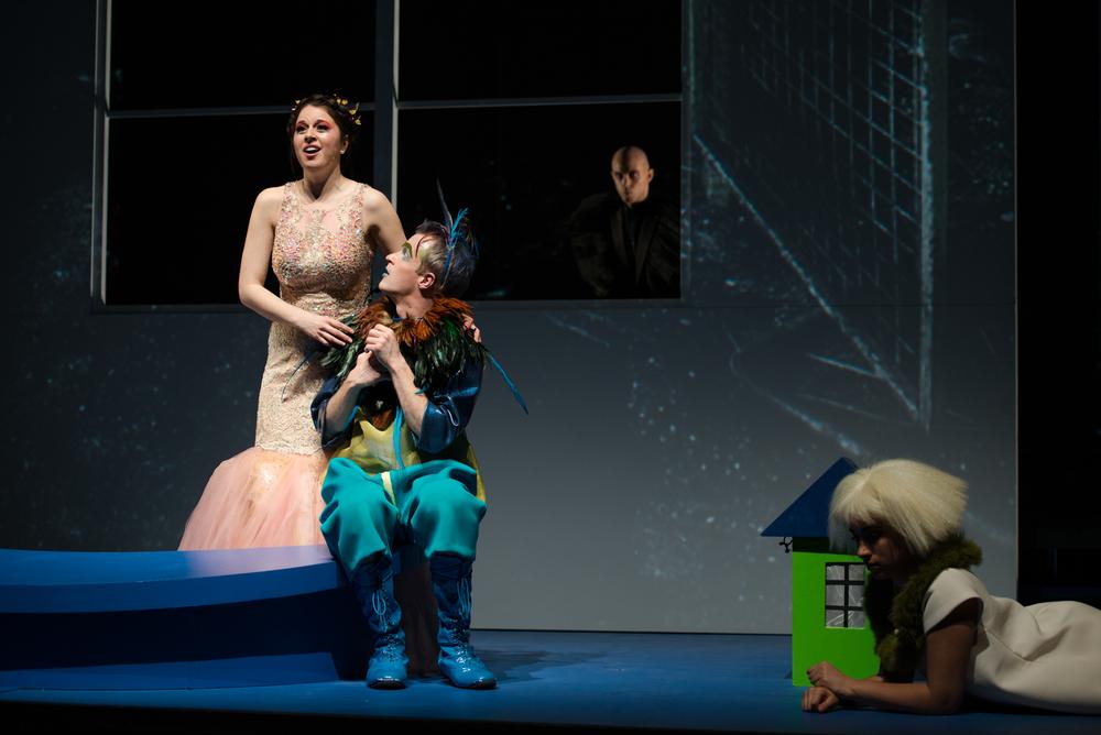 with  Anna-Sophie Neher  as Pamina, & Matthew Slipp as Monostatos