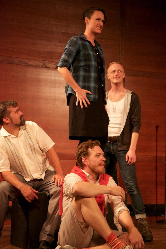with Matthew Hughes,  Kristin Behrmann , & Jeffrey Goble