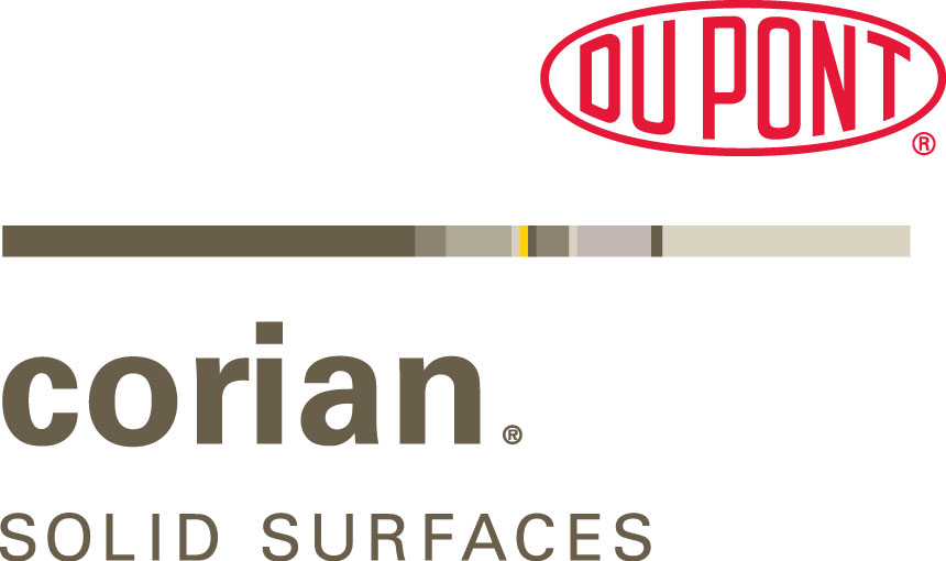 DuPont™ Corian® solid surfaces allow us to create a space as individual as you are. With over 130 colors the possibilities are endless with inlays, seamless backsplashes, and inline solid surface sinks. Backed by a residential limited warranty, Corian® solid surfaces are tough enough to stand up to everyday realities of a busy home.