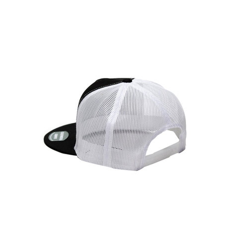 1d2f596cf2d66 Silhouette Rasta on Black and White mesh Snapback — We Are ...