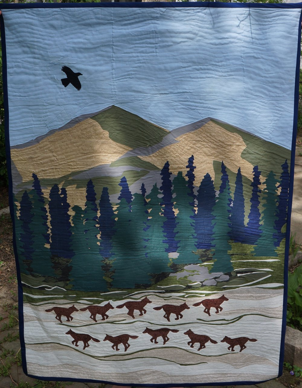 Coyote Quilt