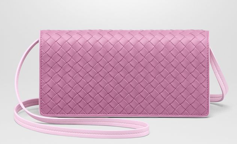Continental Wallet   Pink