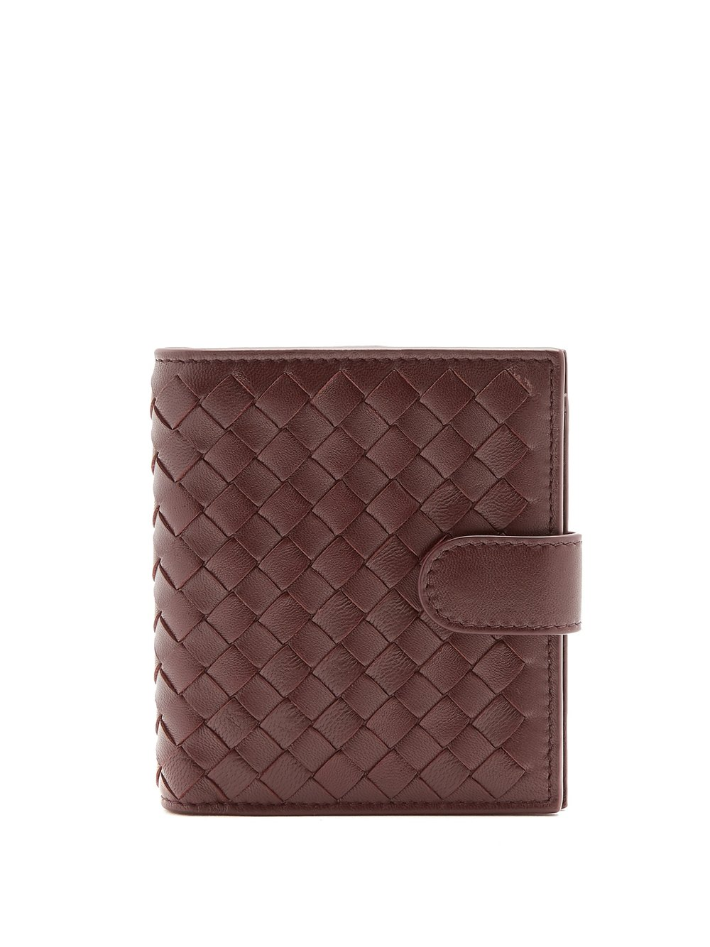Mini Wallet   Burgundy