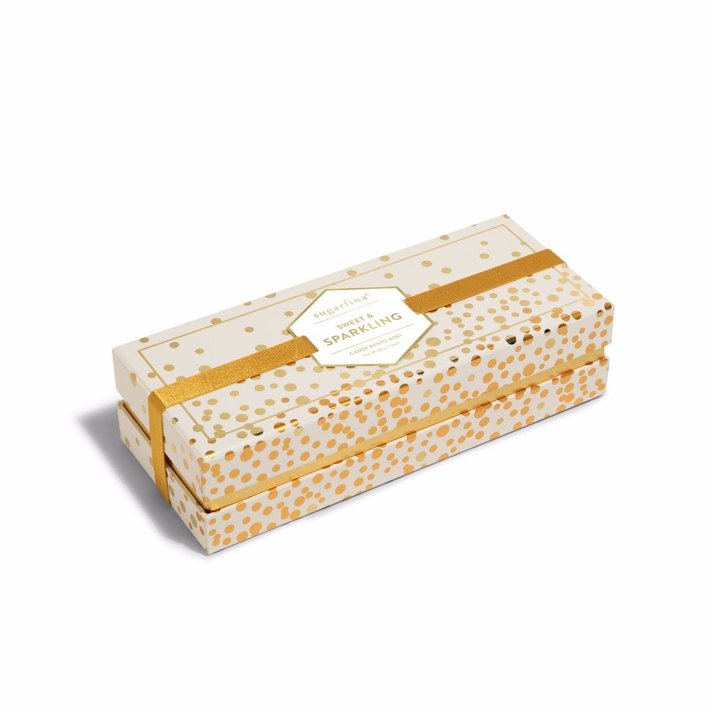 Sugarfina - Sweet & Sparkling 3pc Bento Box