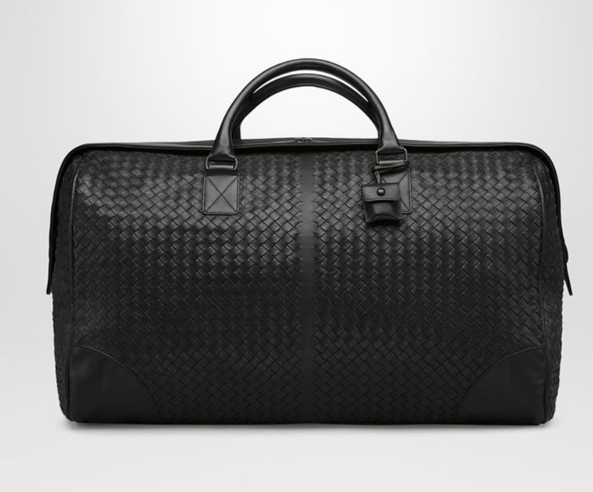 Bottega Veneta Large Duffel   Black