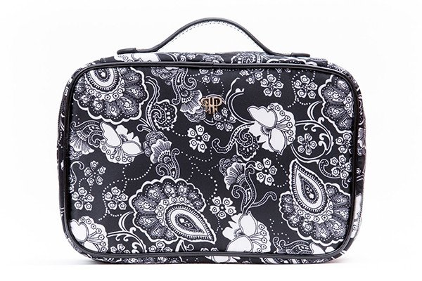 PurseN Lexi Organizer   Black and white paisley