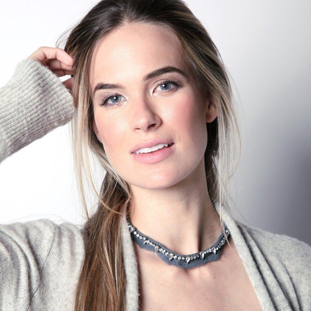 Mignonne Gavigan Charlotte Collar   Grey