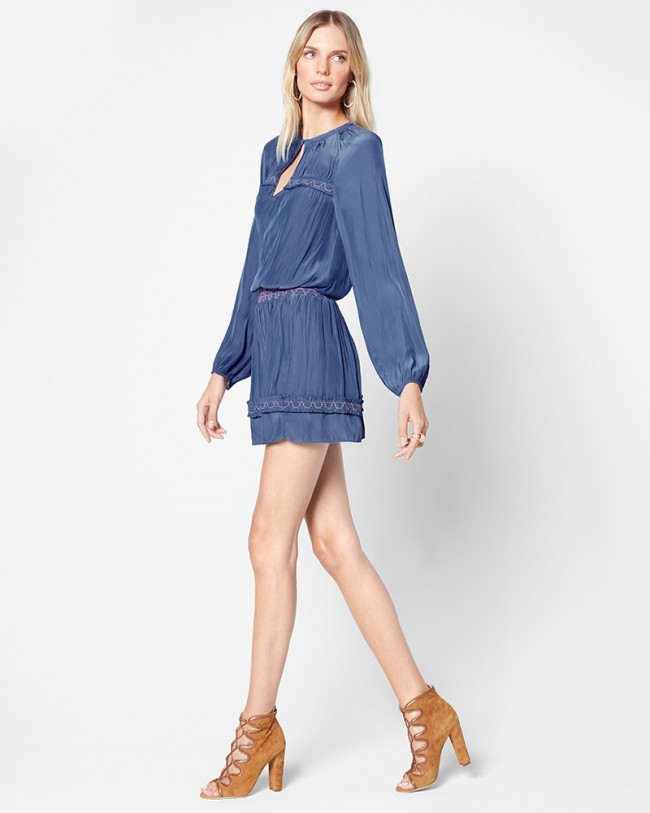 Ramy Brook Ailis Dress   Lake Blue
