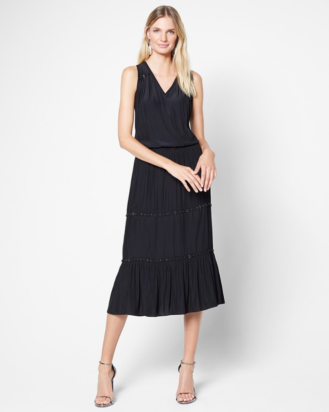 Ramy Brook Eden Dress   Black