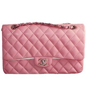 Chanel Lambskin 2.55 Jumbo   Pink
