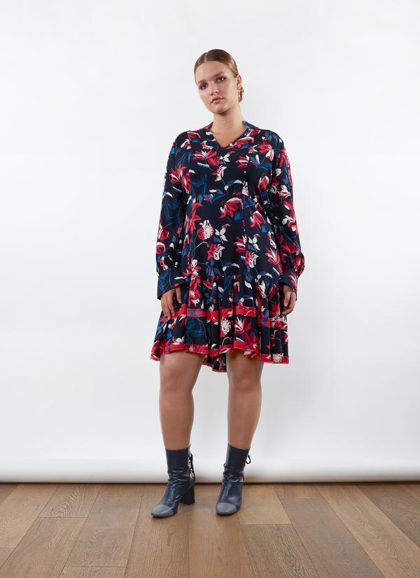 Tanya Taylor Tulip Print Poppy Dress   Multi
