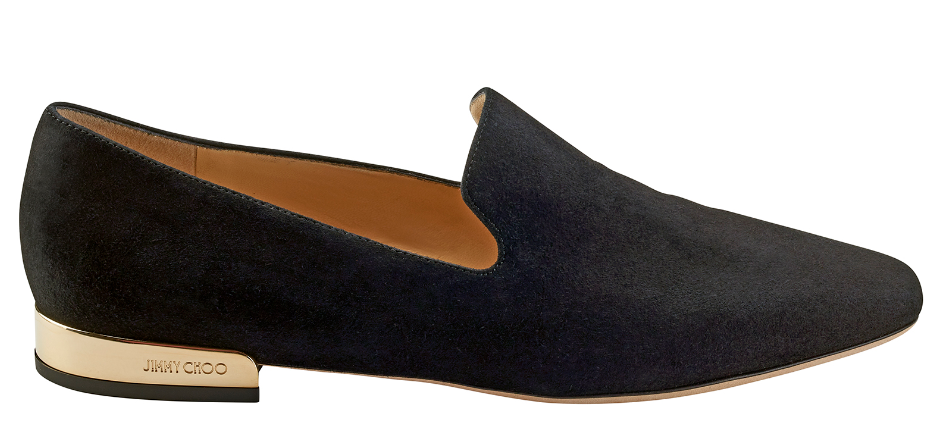 Jaida Suede Loafer   Black