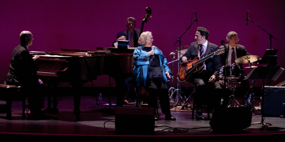 John Pizzarelli and Barbara Cook