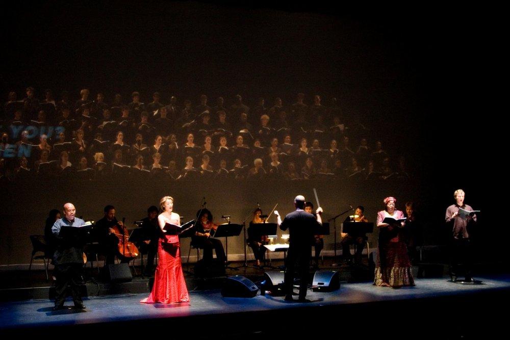 Musicians and Chorus