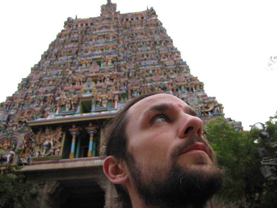 Tyagaraja and Gunjen Mittal have something money cannot buy... hands-on experience, training, and education from all over the world.  Here is Tyagaraja in South India.