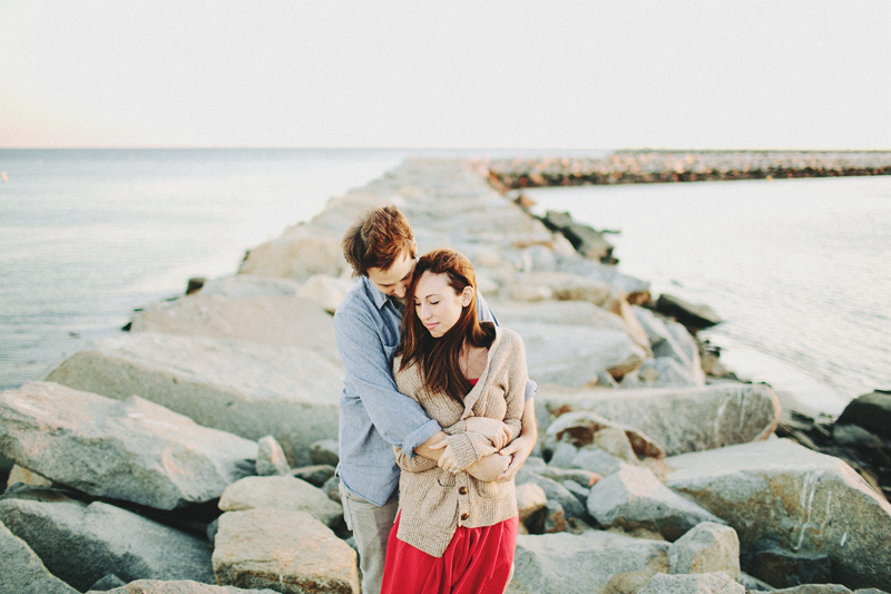 dana point harbor engagement pictures