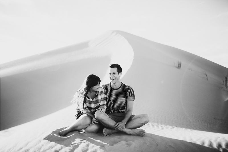 sand dune portraits
