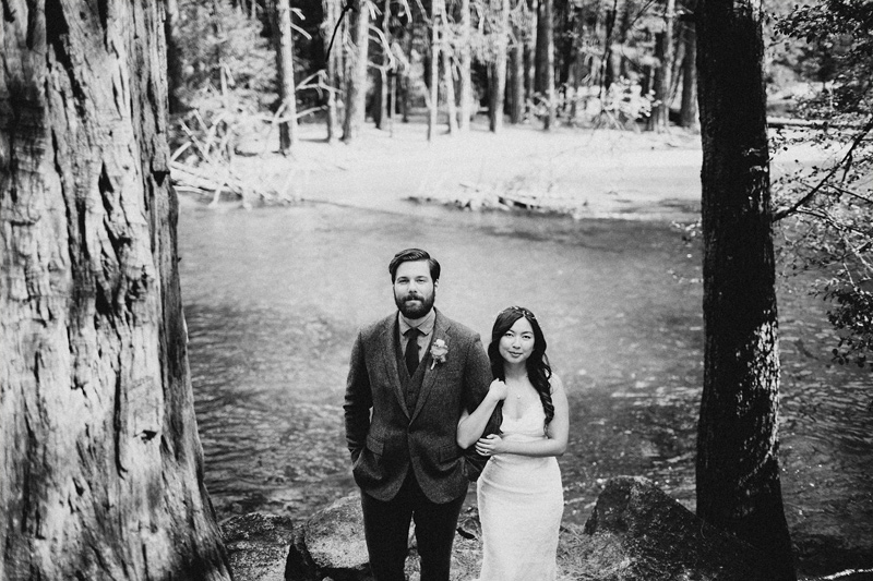 Yosemite Wedding at The Ahwahnee Hotel . Matt & Cleo