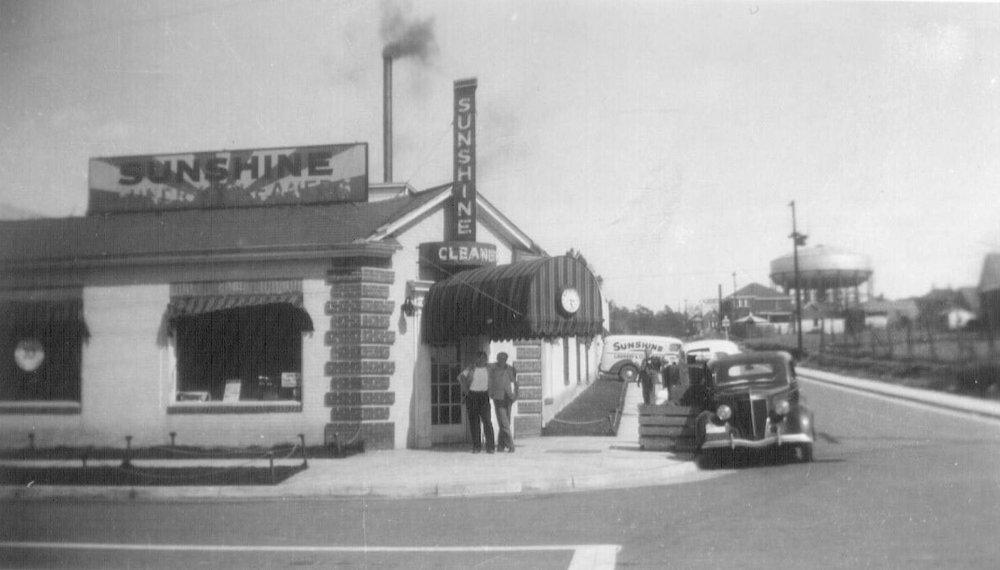 Sunshine Cleaners, Woodrow & Kirby streets