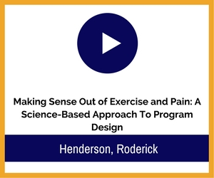 exercise and pain